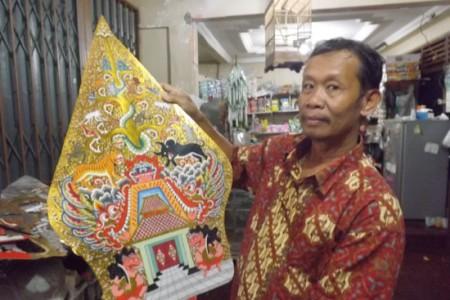 Gunungan Wayang  Mugiman Seharga 1250.000 , Siapa Saja  Pembelinya ?