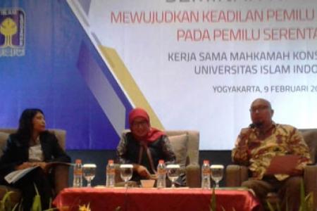 KPU RI Targetkan Partisipasi Pemillih Pemilu 2019 Sebesar 77,5 Persen.