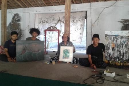 Ponpes Kali opak Piyungan Semarakan 1 Muharram 1441 H Bersama Kyai Jadul