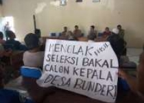 Warga Widoro Wetan Bunder Demo…